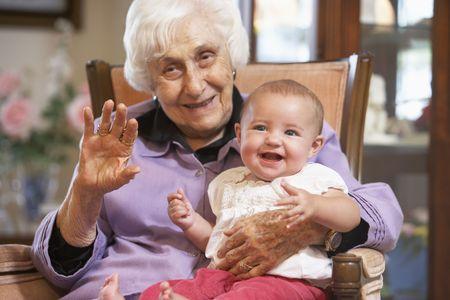 1 senior: La celebraci�n de su nieta abuela en la vuelta