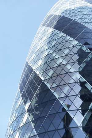 re: Glass Exterior Of Swiss Re Tower, London, England
