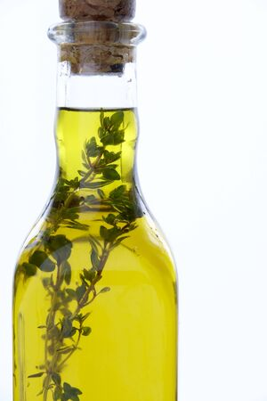 wallingford: Bottle Of Olive Oil With Herbs