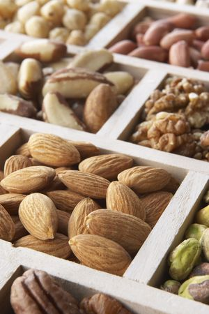 Variety Of Nuts photo
