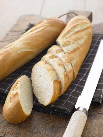 Sliced Baguette Sticks photo