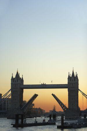 Tower Bridge At Sunset, London, England photo