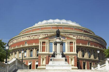 domes: Royal Albert Hall, London, England Stock Photo