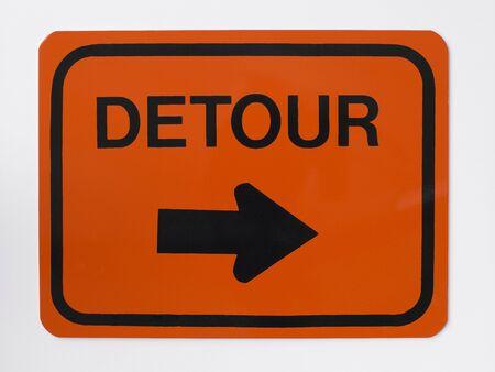 detour: Detour Road Sign