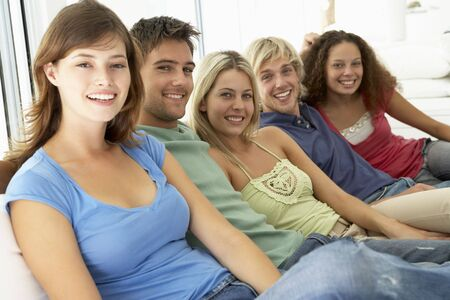 Friends Spending Time Together Stock Photo - 4645060