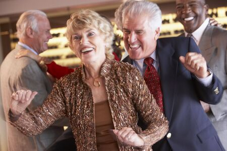 Couples Dancing Together At A Nightclub Stock Photo - 4645997