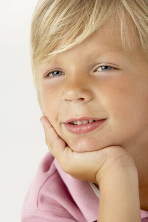 Young Boy Smiling Stock Photo - 4645902