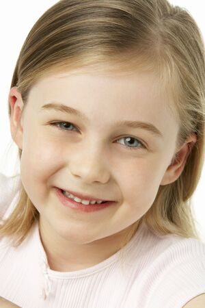 Young Girl Smiling photo