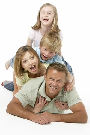 Family Group Happy Together photo