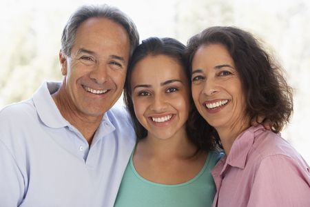 Couple With Their Teenage Daughter photo