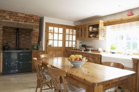 farmhouses: Interior Of Farmouse Kitchen