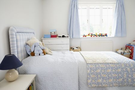 Interior Of Childs Bedroom photo