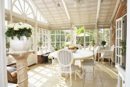Interior Of Modern Conservatory Stock Photo - 5041012