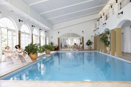 Swimming Pool At Spa photo