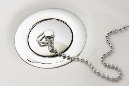 Chrome Plug In Hand Basin Stock Photo - 5297076