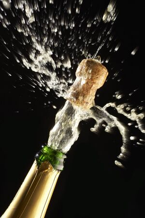 Popping Champagne Cork photo