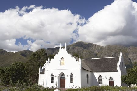 typical: Typical Church,South Africa Stock Photo