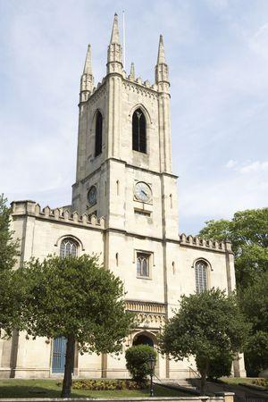 religious building: Exterior Of Church Stock Photo