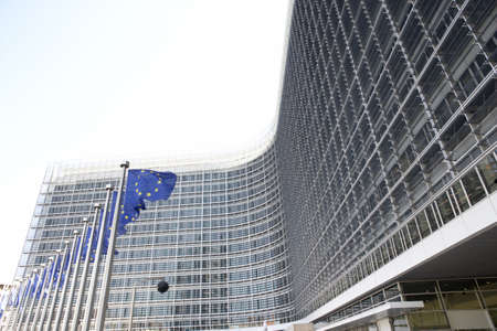 ec: Exterior Of European Commission Building