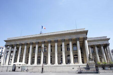 la: La Bourse,Paris Stock Exchange