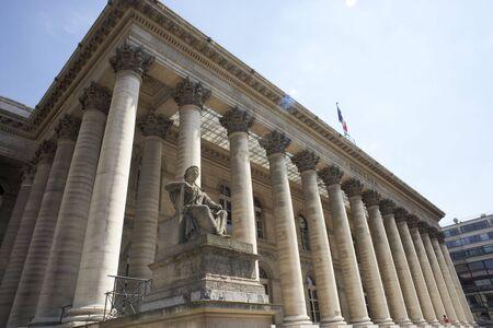 La Bourse,Paris Stock Exchange photo