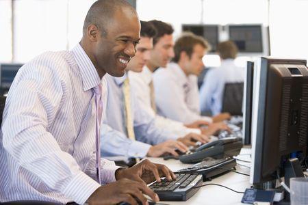traders: Stock Traders At Work