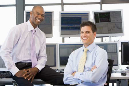 traders: Portrait Of Two Stock Traders