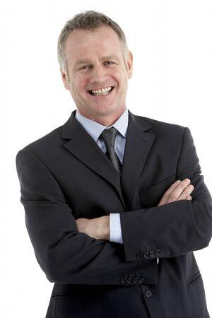 Portrait Of Middle Aged Businessman photo