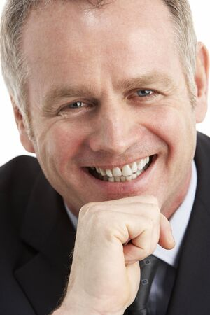 Portrait Of Middle Aged Businessman photo