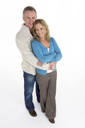 attractive couple: Portrait Of Middle Aged Couple