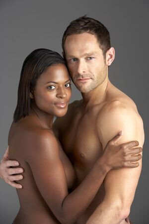 Young Naked Couple Embracing Stock Photo - 5515851