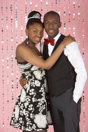 Young Couple Dressed For Party Stock Photo - 5516871
