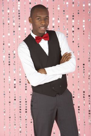 Young Man Dressed In Suit photo