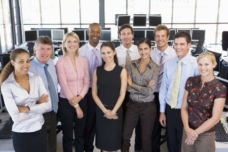 stock traders: Foto di gruppo Of Stock Traders Team Archivio Fotografico