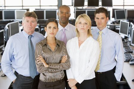 Team Of Stock Traders photo