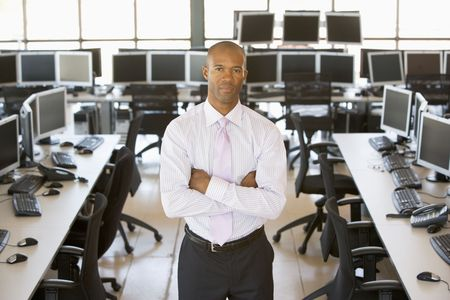 Portrait Of A Stock Trader Stock Photo - 5631638