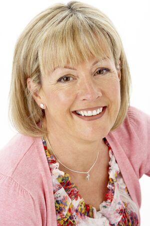 Studio Portrait of Smiling Mother Stock Photo - 5632988