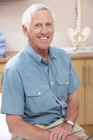 osteopath: Portrait of male osteopath