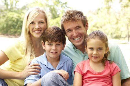 Rodzina korzystajÄ…cych ze dniem W Park