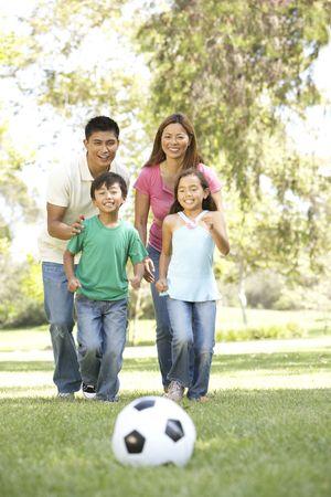 filipino: Family Enjoying Day In Park