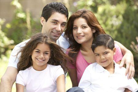 Familie enjoying Tag im Park