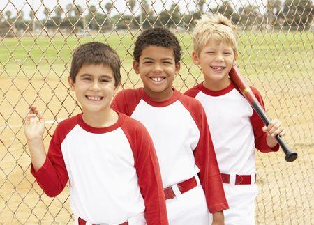 Young Boys In Baseball Team Stock Photo - 6456330