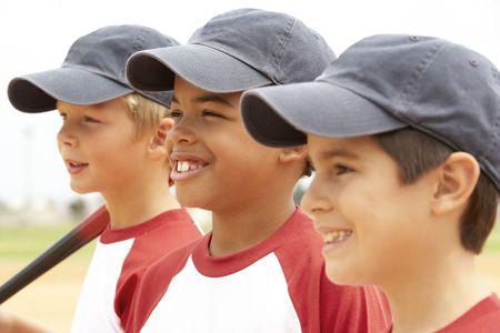 Młodych Boys W Baseball Team