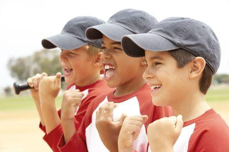 Young Boys W Baseball Team