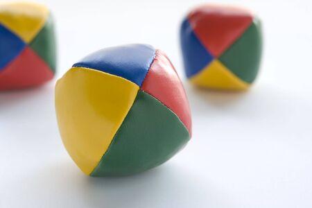 coordinacion: Tres bolas de malabarismo