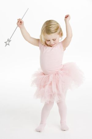 bailarinas: Poco de ballerina holding varita