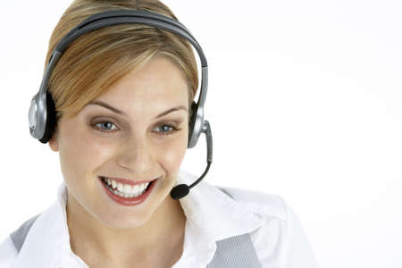 Attractive Customer Services Representative photo