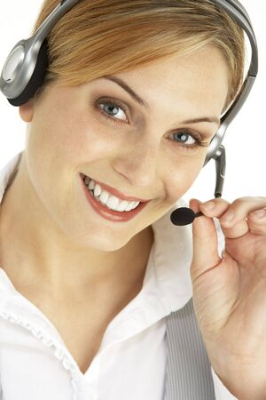 Female Customer Sales Representative photo