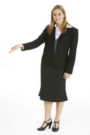 Full Length Portrait Of Businesswoman Stock Photo - 6456628