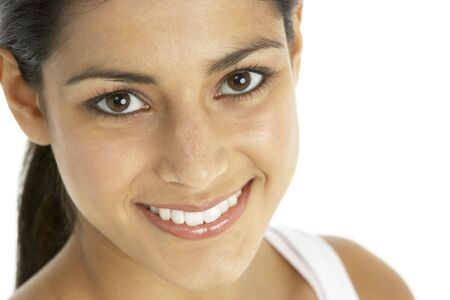 Portrait Of Smiling Young Woman photo